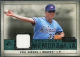 2008 Upper Deck SP Legendary Cuts Legendary Memorabilia Green Parallel #PN Phil Niekro /99