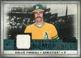 2008 Upper Deck SP Legendary Cuts Legendary Memorabilia Green #RF Rollie Fingers /75