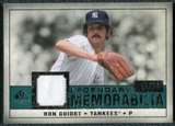 2008 Upper Deck SP Legendary Cuts Legendary Memorabilia Green Parallel #RG Ron Guidry /99