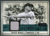2008 Upper Deck SP Legendary Cuts Legendary Memorabilia Green Parallel #RM Roger Maris /99