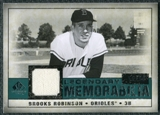 2008 Upper Deck SP Legendary Cuts Legendary Memorabilia Green Parallel #RO Brooks Robinson /99