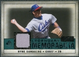 2008 Upper Deck SP Legendary Cuts Legendary Memorabilia Green #RS Ryne Sandberg /99