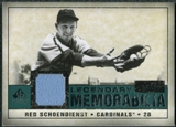 2008 Upper Deck SP Legendary Cuts Legendary Memorabilia Green #SC Red Schoendienst /99