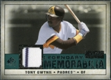 2008 Upper Deck SP Legendary Cuts Legendary Memorabilia Green Parallel #TG2 Tony Gwynn /99