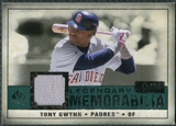 2008 Upper Deck SP Legendary Cuts Legendary Memorabilia Green Parallel #TG3 Tony Gwynn /99