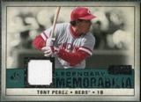 2008 Upper Deck SP Legendary Cuts Legendary Memorabilia Green Parallel #TP Tony Perez /99