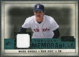 2008 Upper Deck SP Legendary Cuts Legendary Memorabilia Green Parallel #WB2 Wade Boggs /99
