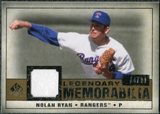 2008 Upper Deck SP Legendary Cuts Legendary Memorabilia #NR2 Nolan Ryan /99