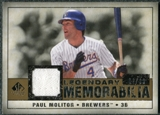 2008 Upper Deck SP Legendary Cuts Legendary Memorabilia #PM Paul Molitor /99