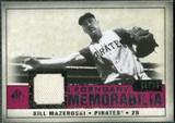 2008 Upper Deck SP Legendary Cuts Legendary Memorabilia Red #BM Bill Mazeroski /25