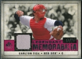 2008 Upper Deck SP Legendary Cuts Legendary Memorabilia Red #CF Carlton Fisk /35