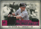 2008 Upper Deck SP Legendary Cuts Legendary Memorabilia Red Parallel #CR2 Cal Ripken Jr. /35