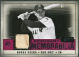 2008 Upper Deck SP Legendary Cuts Legendary Memorabilia Red #DO Bobby Doerr /35