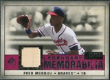 2008 Upper Deck SP Legendary Cuts Legendary Memorabilia Red Parallel #FM Fred McGriff /35
