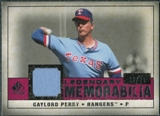 2008 Upper Deck SP Legendary Cuts Legendary Memorabilia Red #GP2 Gaylord Perry /35