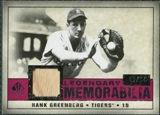 2008 Upper Deck SP Legendary Cuts Legendary Memorabilia Red Parallel #HG Hank Greenberg /14
