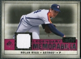 2008 Upper Deck SP Legendary Cuts Legendary Memorabilia Red Parallel #NR3 Nolan Ryan /35