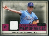 2008 Upper Deck SP Legendary Cuts Legendary Memorabilia Red Parallel #PN Phil Niekro /35