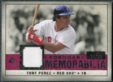 2008 Upper Deck SP Legendary Cuts Legendary Memorabilia Red Parallel #TP2 Tony Perez /35