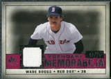 2008 Upper Deck SP Legendary Cuts Legendary Memorabilia Red Parallel #WB2 Wade Boggs /35