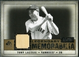 2008 Upper Deck SP Legendary Cuts Legendary Memorabilia #TL Tony Lazzeri /40
