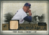 2008 Upper Deck SP Legendary Cuts Legendary Memorabilia #TO Tony Oliva /25