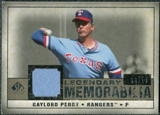 2008 Upper Deck SP Legendary Cuts Legendary Memorabilia Taupe Parallel #GP2 Gaylord Perry /10