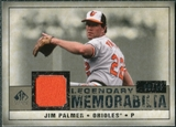 2008 Upper Deck SP Legendary Cuts Legendary Memorabilia Taupe #JP Jim Palmer /10