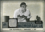 2008 Upper Deck SP Legendary Cuts Legendary Memorabilia Taupe Parallel #LB Lou Boudreau /10