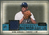 2008 Upper Deck SP Legendary Cuts Legendary Memorabilia Blue Parallel #GI Kirk Gibson /25