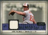 2008 Upper Deck SP Legendary Cuts Legendary Memorabilia Violet Parallel #JP Jim Palmer /25