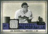 2008 Upper Deck SP Legendary Cuts Legendary Memorabilia Violet Parallel #LB Lou Bourdeau /20