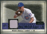2008 Upper Deck SP Legendary Cuts Legendary Memorabilia Violet Parallel #MG Mark Grace /50