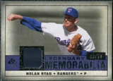 2008 Upper Deck SP Legendary Cuts Legendary Memorabilia Violet Parallel #NR2 Nolan Ryan /50