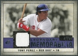 2008 Upper Deck SP Legendary Cuts Legendary Memorabilia Violet #TP Tony Perez /50