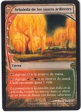 Magic the Gathering Future Sight Spanish Single Grove of the Burnwillows - NEAR MINT