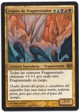 Magic the Gathering Future Sight Spanish Single Sliver Legion - NEAR MINT (NM)
