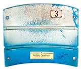 Sparky Lyle Autographed NY Yankees Stadium Seat Back (Steiner)