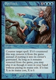 Magic the Gathering Judgment Single Spelljack FOIL - SLIGHT PLAY (SP)