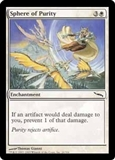 Magic the Gathering Mirrodin Single Sphere of Purity FOIL