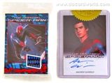 The Amazing Spider-Man Movie Trading Cards Set w/Garfield-Spidey Auto (Rittenhouse 2012)