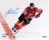 Steven Stamkos Autographed Team Canada 8x10 Hockey Photo (UDA)