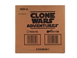 Topps Star Wars TCG Clone Wars Adventures Booster 16-Box Case