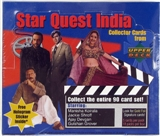 Upper Deck Star Quest India Collector Cards Box