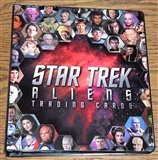 Star Trek Aliens Trading Cards Album/Binder