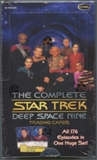 Star Trek Complete Deep Space 9 Trading Cards Box (Rittenhouse 2007)