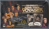 Star Trek The Complete Voyager Trading Cards Box (Rittenhouse 2002)