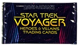 Star Trek: Voyager Heroes & Villains Pack (Rittenhouse 2015)
