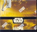 WOTC Star Wars TCG A New Hope Booster Box (11 cards per pack)