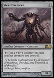 Magic the Gathering 2011 Single Steel Overseer FOIL -  SLIGHT PLAY (SP)
